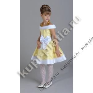 295ee57e8f0 Купить красивое Платье Желтая полоска в интернет-магазине kupi-platia.ru