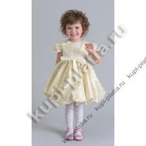 Платье для девочек золотое