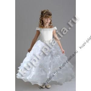 540565d6096 Купить красивое Платье Патрисия белое в интернет-магазине kupi-platia.ru
