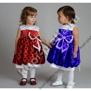 bdb95227250 Купить красивое Платье Божья коровка в интернет-магазине kupi-platia.ru