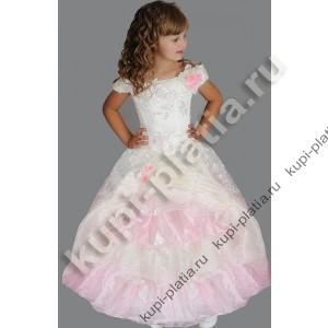 Платье для девочки Любаша айвори