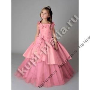 Платье для девочки Таня бант роз