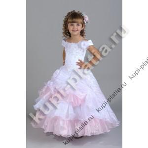 Платье для девочки Любаша маленькая роз