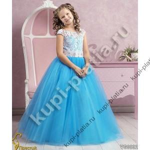Платье для девочки Василиса прекрасная морск волна
