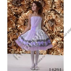 Платье для девочки Стиляга ретро декольте