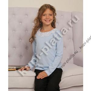 Блузка голубая для школьной формы