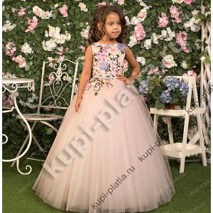 69579549631 Детские нарядные платья для девочек на 7 - 11 лет