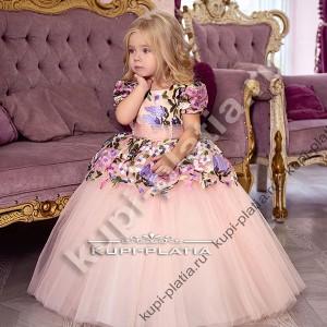 f09e4a89508a8dd Детские нарядные платья для девочек на 4 - 6 лет