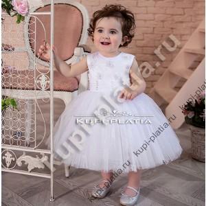 63a12136b807 Детские нарядные платья для девочек на 0 - 2 года