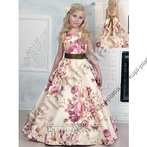 9db03920866 Платье праздничное Летний сад персик. Платье праздничное Летний сад  молочный. Платье на выпускной Азалия органза роз