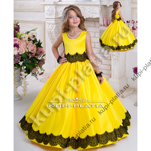 e5b9e497de0 Детские нарядные платья для девочек на 7 - 11 лет